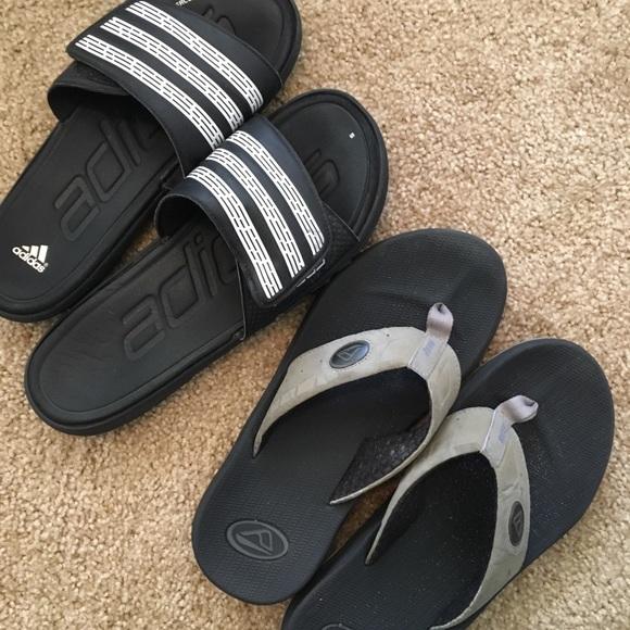 adidas schuhe als männer sandalen poshmark
